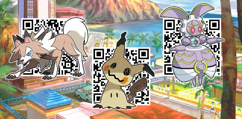 [GUIDA] Tutti i codici QR per ottenere tutti i Pokémon di Alola