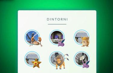 La funzionalità Dintorni di Pokémon GO è ora disponibile in Europa!