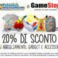 Uno sconto esclusivo del 20% da GameStop per tutti i fan dei Pokémon!