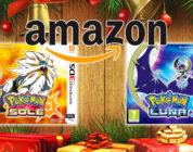 Pokémon Sole e Luna sono i titoli più venduti su Amazon durante le feste di Natale!