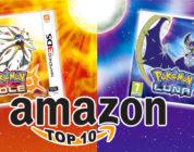 Pokémon Sole e Luna sono nella Top Ten dei migliori giochi del 2016 secondo Amazon!