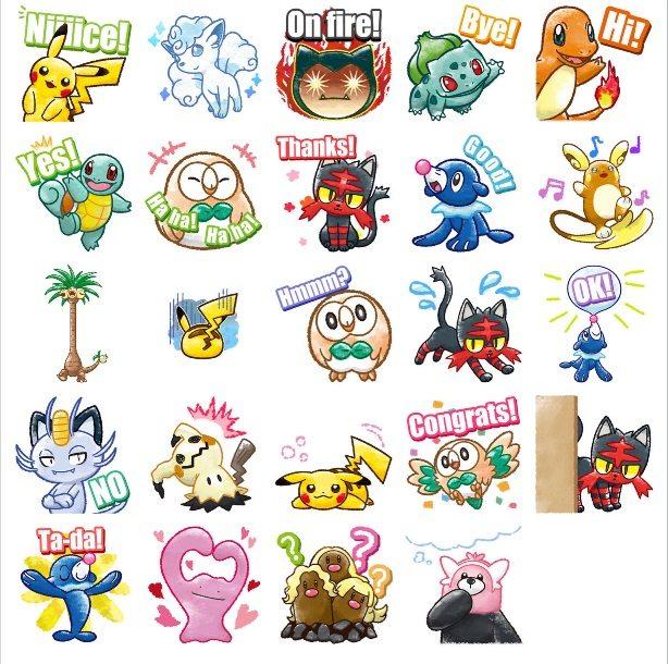 Sticker Pokémon