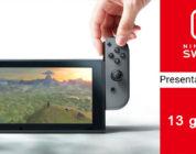 Rivelato l'orario della presentazione di gennaio di Nintendo Switch!
