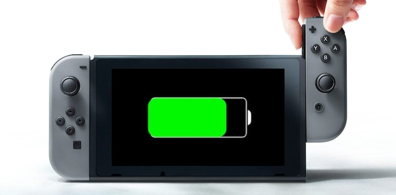 Nintendo Switch batteria
