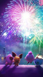 Schermata di caricamento di Pokémon GO per il nuovo anno