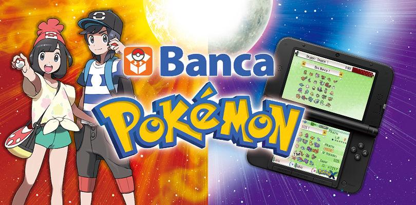 La Banca Pokémon è ora disponibile per Pokémon Sole e Luna!