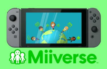 Lanciata una petizione per portare Miiverse su Nintendo Switch!