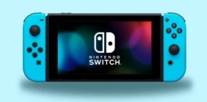 Nintendo Switch Blue Neon previes