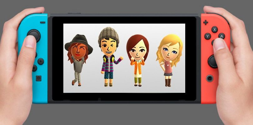 how to create mii on switch