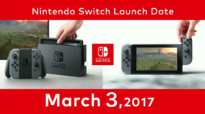 Nintendo Switch lancio