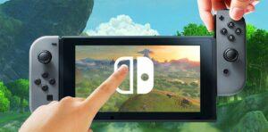 Nintendo Switch multi-touch screen