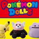 Nuovi dolcissimi peluche arrivano nei Pokémon Center giapponesi!