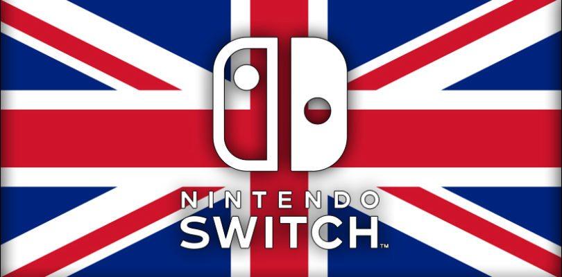 Alcuni rivenditori britannici dicono la loro sul prezzo di Nintendo Switch!
