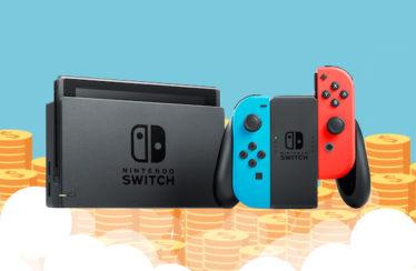 Nintendo Switch è la seconda console più venduta al lancio nella storia dell'industria videoludica americana