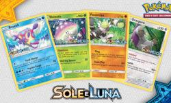 Ecco Decidueye-GX, Incineroar-GX, Primarina-GX e molti altri dall'espansione Sole e Luna!
