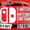 5 -BUONI- motivi per acquistare Nintendo Switch al lancio