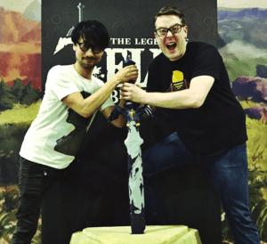 Hideo Kojima e Greg Miller Spada Suprema