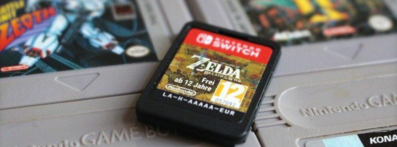 Ecco nuove immagini delle cartucce e custodie di Nintendo Switch