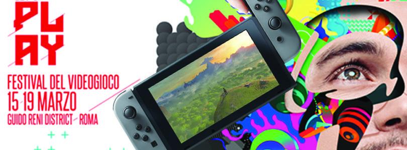 Sarà possibile provare Nintendo Switch a Roma al festival videoludico Let's Play