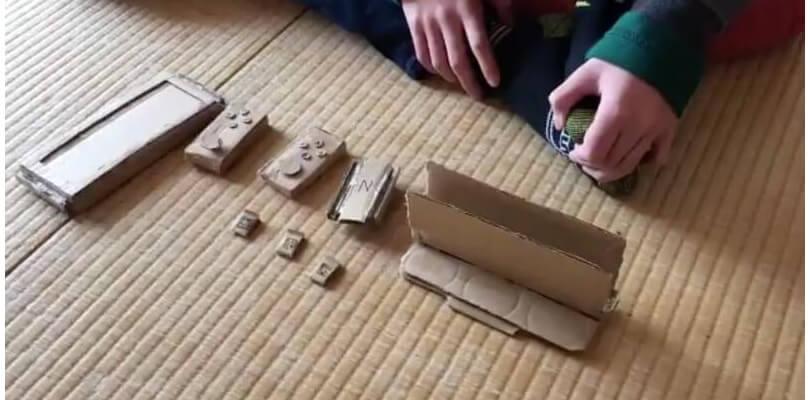 La mamma non gli compra Nintendo Switch e lui se lo costruisce da solo