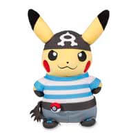 Pikachu in Team Aqua Costume