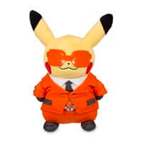 Pikachu in Team Flare Costume