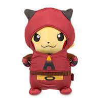 Pikachu in Team Magma Costume