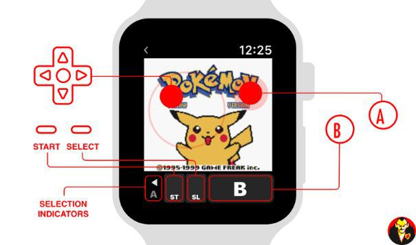 Pokémon Giallo Apple Watch ccontrolli