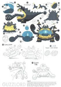Pokémon Sole e Luna concept Ultracreature 7