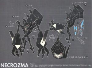 Pokémon Sole e Luna concept Ultracreature 8