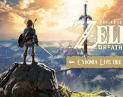 Questa sera non perdere la live di The Legend of Zelda: Breath of the Wild con Cydonia e Chiara