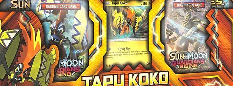 Svelato il box Tapu Koko Figure Collection
