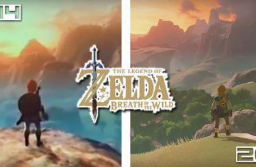 Quanto è cambiato Zelda: Breath of the Wild dalla sua anteprima del 2014 fino ad oggi?