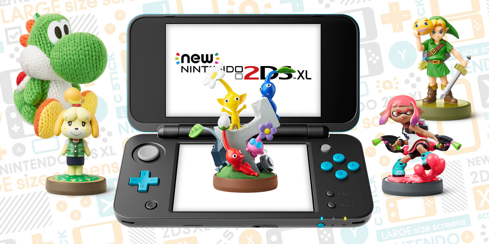 nintendo annuncia il new nintendo 2ds xl pok mon millennium. Black Bedroom Furniture Sets. Home Design Ideas