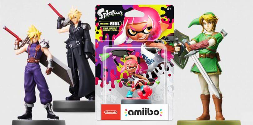 Annunciati nuovi amiibo di The Legend of Zelda, Splatoon 2 e Super Smash Bros.
