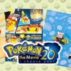 In arrivo nei Pokémon Center nuovi articoli e una linea dedicata al ventesimo film