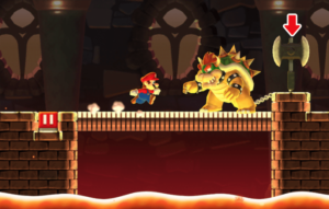 L'epico scontro tra Mario e Bowser ricreato in Super Mario Run