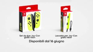 Joy-Con giallo neon 2