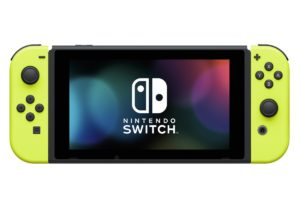 Joy-Con giallo neon