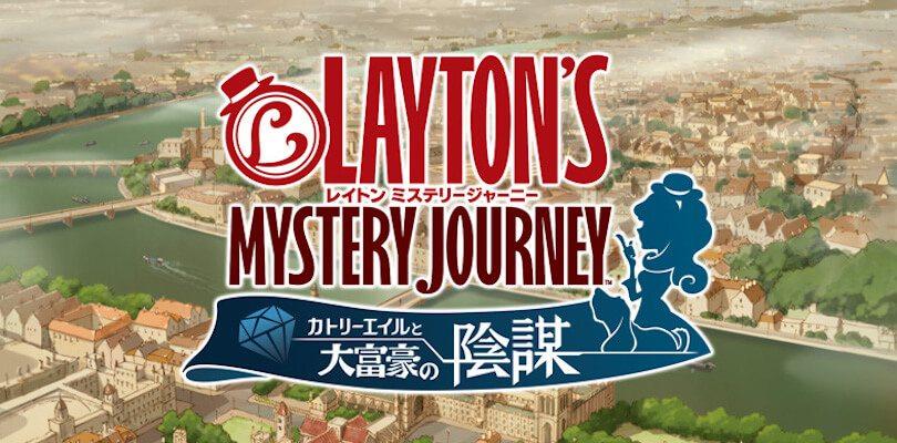Layton's Mystery Journey per Nintendo 3DS uscirà in autunno