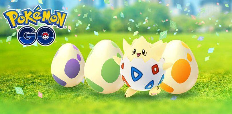Festeggia la Pasqua con il Festival dell'Uovo di Pokémon GO