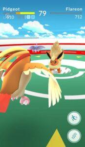 Pokémon Go - Gym Battle