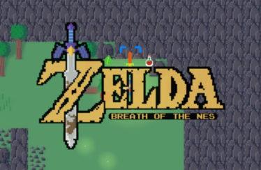 Un fan ha creato una versione 2D di The Legend of Zelda: Breath of the Wild