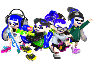 blue team manga splatoon