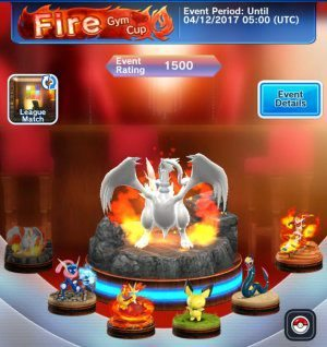 Pokémon Duel Fuoco Fire Gym Cup