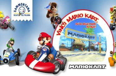 Vinci Mario Kart con il concorso di Sammontana