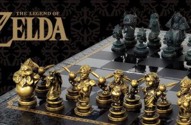 Disponibile su Amazon una meravigliosa scacchiera dedicata a The Legend of Zelda