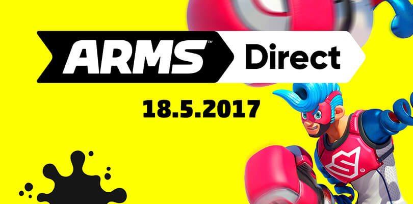 Nintendo annuncia un ARMS Direct e un nuovo trailer di Splatoon 2