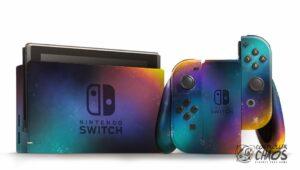 Nintendo Switch galaxy style