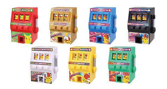 Slot machine pokemon rosso fuoco